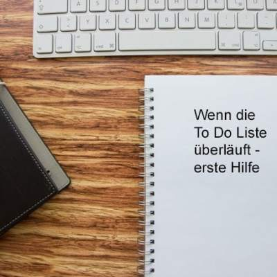 Tipps für besseres Zeitmanagement, To Do Liste priorisieren