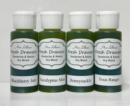 Fresh Drawers Sample Set - BlackberryJamEucMintHoneysuckleTexasRanger