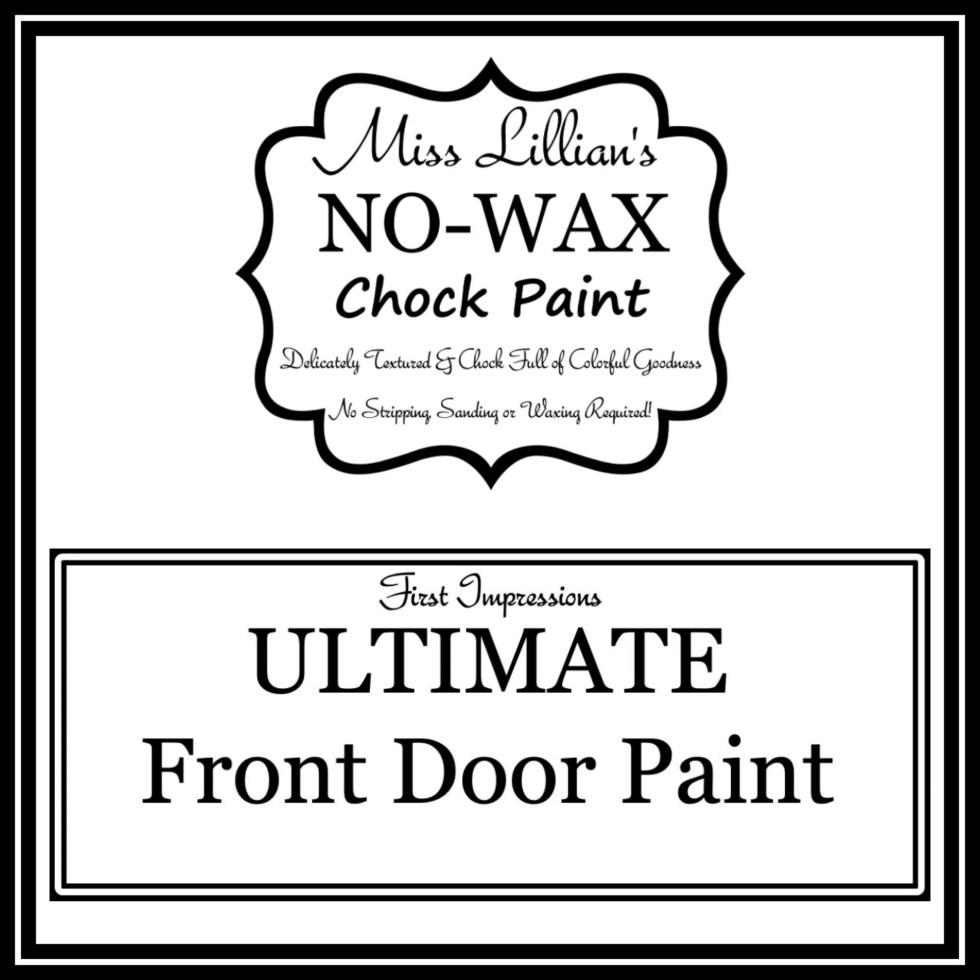 Front Door Paint Cover