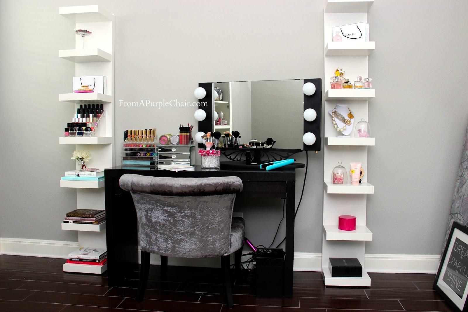 Makeup Room/Beauty Room Set Up (Before) - Miss Liz Heart on Make Up Room  id=66896