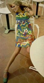 Jean Patou pop art dress