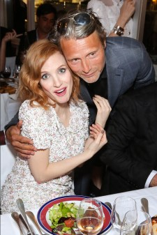 Jessica Chastain and Mads Mikkelsen