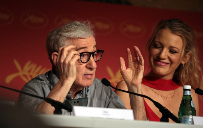 "Woody Allen and Blake Lively for ""Café Society"""