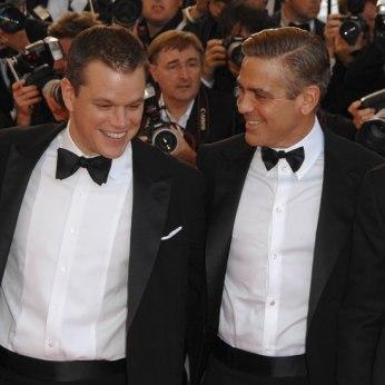 Matt Damon and Georges Clooney