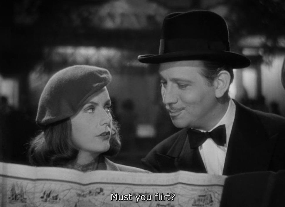 Ninotchka flirt