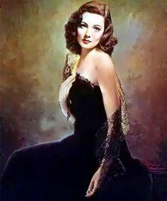 The portrait of Laura
