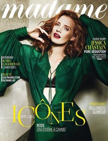 Jessica-Chastain-Madame-Figaro-magazine-cover