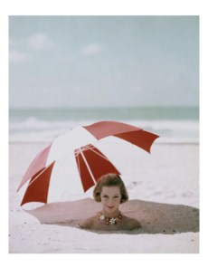 Sitting in the Shade, Buried in the Sand 1963