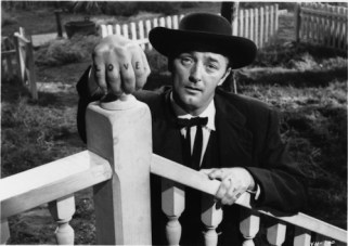 Robert Mitchum as Harry Powell