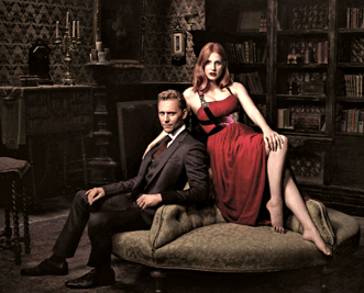 Jessica Chastain and Tom Hiddelston