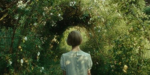 Saoirse Ronan as Briony Tallis, aged 13