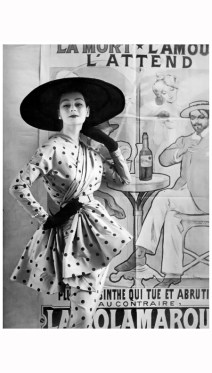 photo-henry-clarke-anne-gunning-wearing-jacques-heim-1951