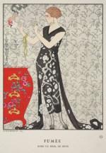 La fumée, Gazette du Bon Ton 1921