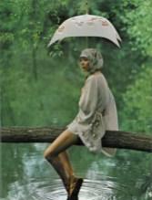 Marie Helvin Vogue UK August 1971