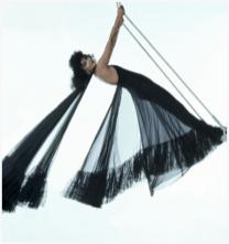 Marie Helvin in Dior 1974