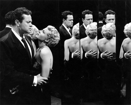 Orson Welles and Rita Hayworth for The lady from Shanghai in 1947