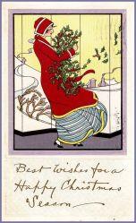 christmas-art-deco-postcard