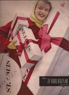 christmas-fashion-for-harpers-junior-bazaar-1950s