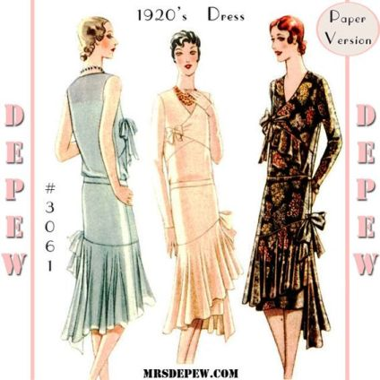 vintage-sewing-pattern-reproduction-ladies-1920s-maggy-rouff-couture
