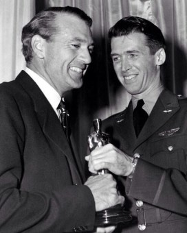 Gary Cooper and James Stewart