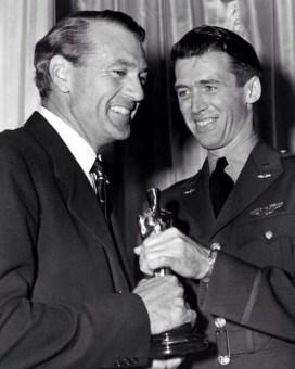 Gary Cooper and James Stewart
