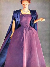 Sophie Malgat in Christian Dior 1952