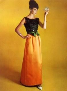 Yves Saint Laurent gown 1962