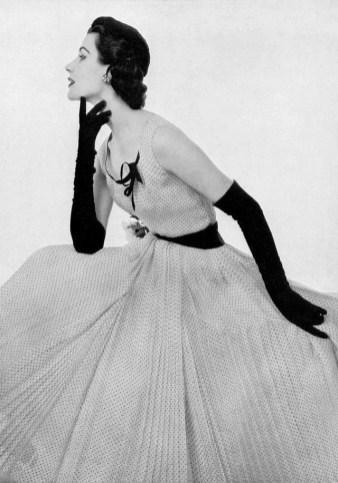 1953 Model wearing Madeleine de Rauch