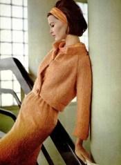 Model wearing Pierre Balmain 1964