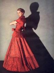 Marie-Thérèse in Lanvin Castillo 1953