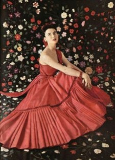Sylvie Hirsch in Dior 1952