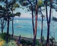 Jardin en Pyla by Albert Marquet