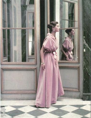 Velvet dress by Balenciaga