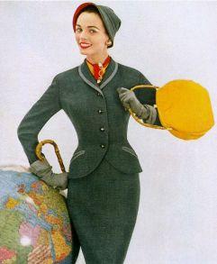 Slim suit 1953