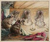 The Mice Sewing the Mayor's Coat circa 1902 Helen Beatrix Potter 1866-1943 Presented by Capt. K.W.G. Duke RN 1946 http://www.tate.org.uk/art/work/A01104
