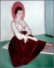 Dovima, 1954
