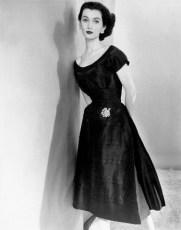 Black dress 1952