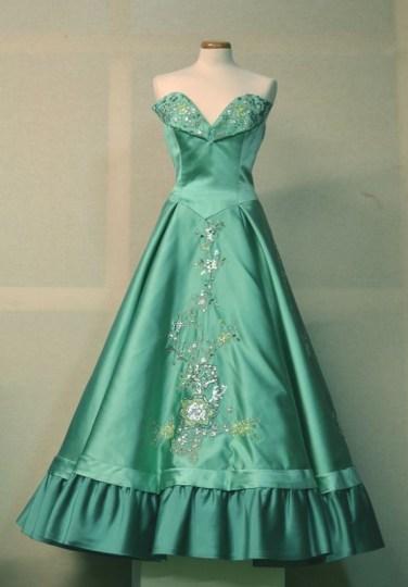 "Gown worn by Ava Gardner in the movie""Barefoot Contessa"""