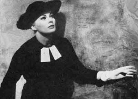 Actress Anita Ekberg
