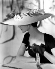 Dovima, Vogue 1954