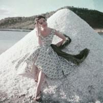 """Sunny Harnett May 1954 """"Glamour"""""""