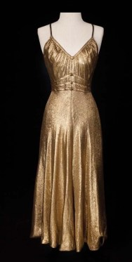 "Gown worn by Ginger Rogers in ""Dinah Barkley"""