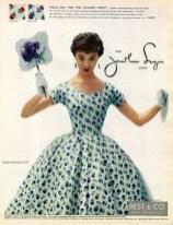 Jonathan Logan look 1954
