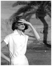 Suzy Parker in Morocco, 1953, shot by Georges Dambier