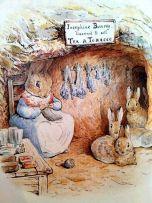 potter tea rabbits