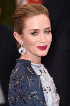 Emily Blunt Costume Institute Gala Benefit celebrating China: Through the Looking Glass, Metropolitan Museum of Art, New York, America - 04 May 2015 (Rex Features via AP Images)
