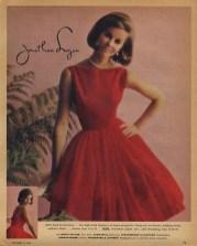 Susan Van Wyck wearing Jonathan Logan, November 1963