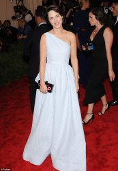Zoey Deschanel 2013 met ball
