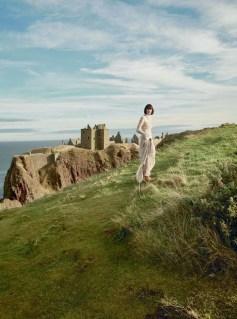 Sam Rollinson by Agata Pospieszynska for Harper's Bazaar UK March 2017
