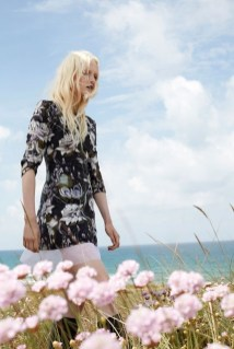 Maja Salamon Poses Outdoors for ELLE Poland by Agata Pospieszynska